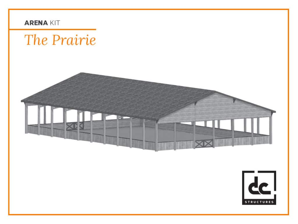 DC Structures Prairie Category Arena Kit