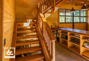 DC Structures Heavy Timber Staircase