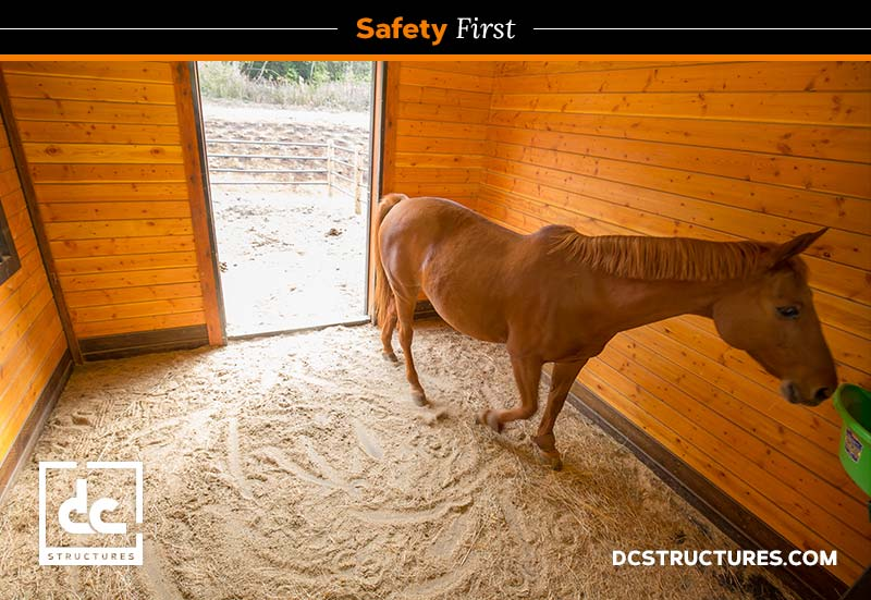 horse barn safety